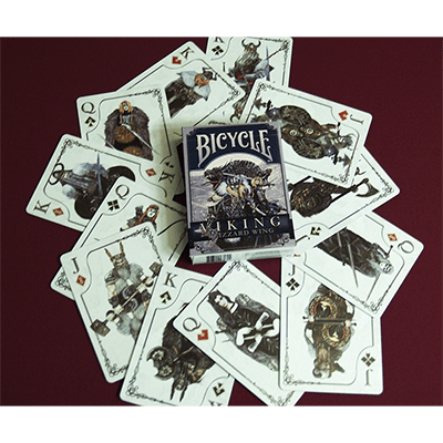 Cartas Vikings Bicycle Didacticos