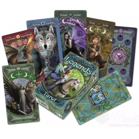 Cartas Tarot Legends Anne Stokes Bicycle Esotérico Didacticos