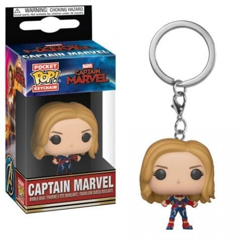 Llavero Capitan Marvel Funko POP Capitana Marvel Marvel