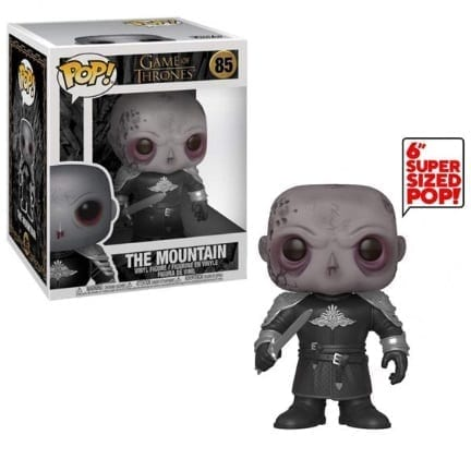 Figura The Mountain Funko POP Juego de Tronos Series 6""
