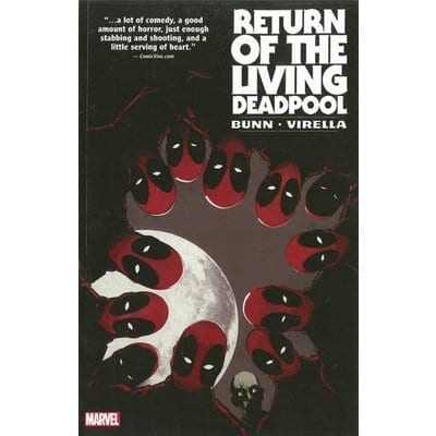 Cómic Return of the Living Deadpool Marvel Deadpool Marvel