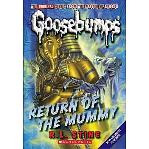 Libro Goosebumps Schoolastic Escalofrios Terror Return of the Muumy ENG