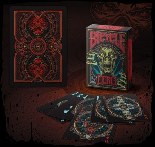 Cartas Eerie Bicycle Didacticos