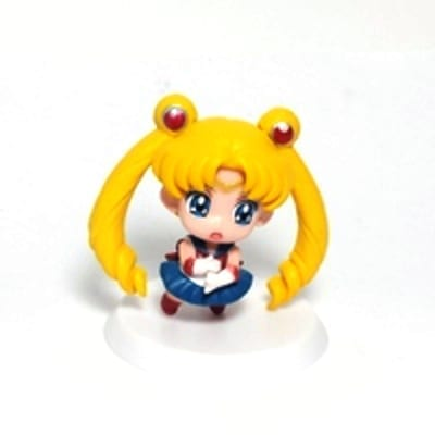 "Figura Chibi Sailor Moon PT Sailor Moon Anime Base Blanca 2"" (Copia)"