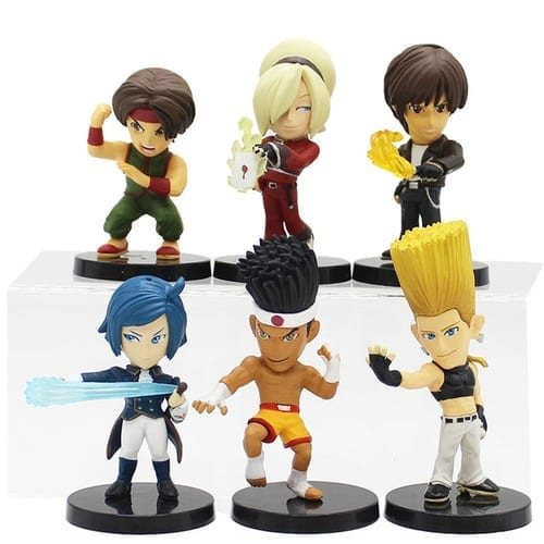 "Figura Personajes Varios SNK The King of Fighters Videojuegos en Caja 3"" (Copia)"