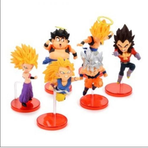 Figura Bravery Saiyans Vol 1 Banpresto WCF Dragon Ball Anime en Caja (Unidad) (Copia)