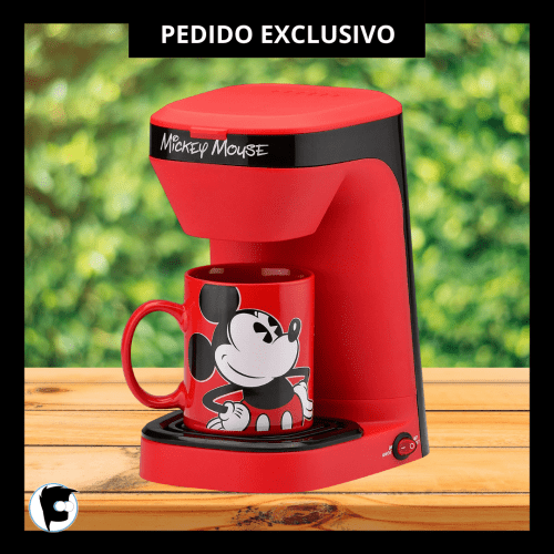 Cafetera Mickey Mouse Uncany Brands Disney Mickey Mouse