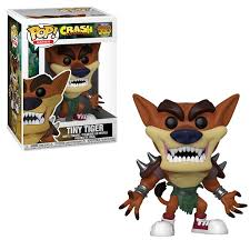 Figura Tiny Tiger Funko POP Crash Bandicoot Videojuegos
