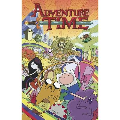 Comic Adventure Time Kaboom Animados Vol 1 ENG