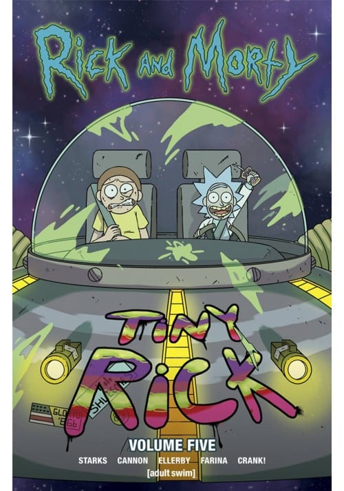 Comic Oni Press Rick and Morty Animados Vol 5 ENG