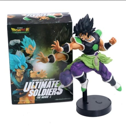 Figura Broly PT Dragon Ball Anime Ultimate Soldiers 7''