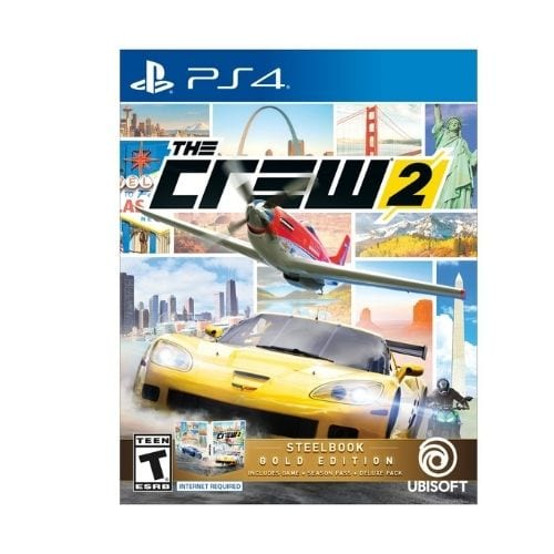 Videjojuego Crew 2 Golden Edition Ubisoft Play Station 4 Videojuegos Includes  Season pass +Additional vehicles