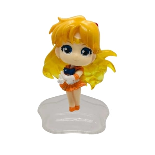 Figura Sailor Venus PT Sailor Moon Anime Base Estrella  3""