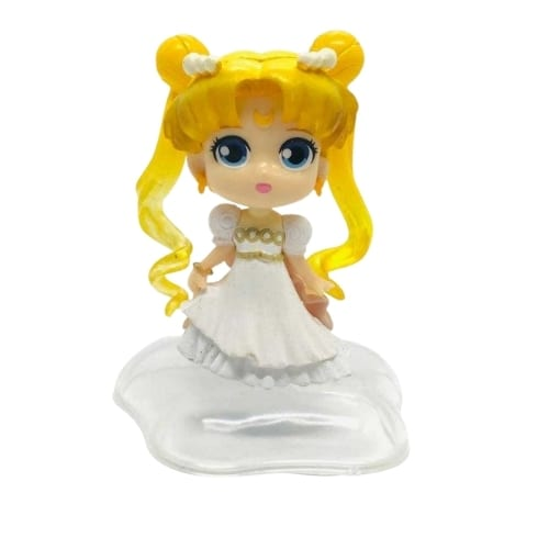 Figura Princesa Serenity PT Sailor Moon Anime Base Estrella  3""