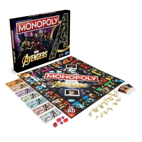 Marvel Comics - Juego de Mesa Monopoly Marvel Studios The First Ten Years Avengers