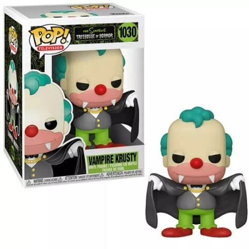 Figura Krusty Funko POP Los Simpsons Animados Vampiro