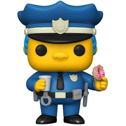 Figura Chief Wiggum Funko POP Animados Jefe Gorgory