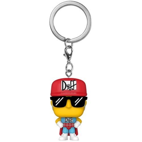 Llavero Duffman Funko POP The Simpsons Animados Hombre Duff