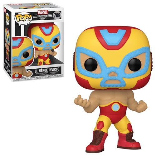 Figura Luchador Iron Man Funko POP Marvel El Heroe Invicto