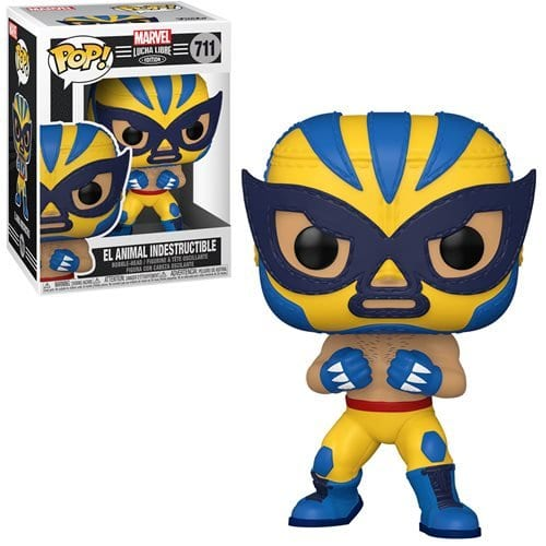 Figura Luchador Wolverine Funko POP Marvel El Animal Indestructible