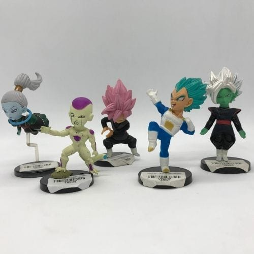 "Figura Personajes Varios PT Dragon Ball Anime Base Negra 4"" (Copia)"