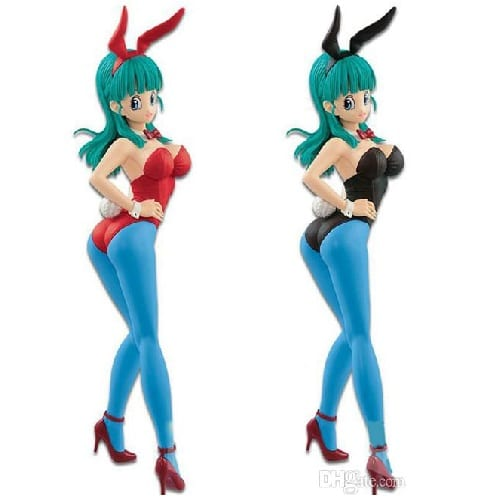 Dragon Ball - Figura Banpresto Hot Cold Bulma Vestida de Conejo en Caja 6""